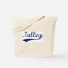 Talley - vintage (blue) Tote Bag