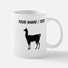 Llama Silhouette (Custom) Mugs