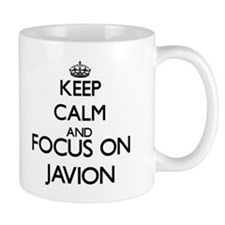 Keep Calm and Focus on Javion Mugs