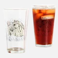 Arabian Art Drinking Glass
