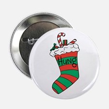 """Hung Stocking 2.25"""" Button"""