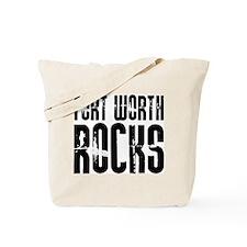 Fort Worth Rocks Tote Bag