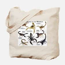 Scorpions of the World Tote Bag
