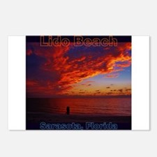 Lido Beach Florida Postcards (Package of 8)