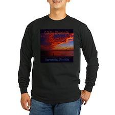 Lido Beach Florida Long Sleeve T-Shirt