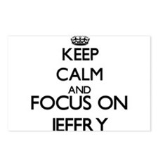 Keep Calm and Focus on Je Postcards (Package of 8)