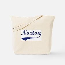 Norton - vintage (blue) Tote Bag