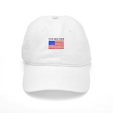 Custom Distressed United States Flag Baseball Baseball Baseball Cap