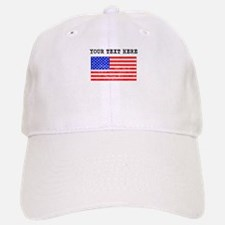 Custom Distressed United States Flag Baseball Baseball Baseball Cap
