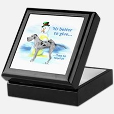 Great Dane MerleUC Giving Keepsake Box