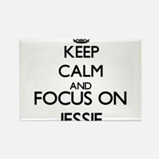 Keep Calm and Focus on Jessie Magnets