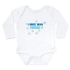Cute Snowflakes Long Sleeve Infant Bodysuit