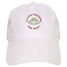 Flying Saucers Are Real Vintage Baseball Cap