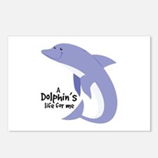 Dolphins Life Postcards (Package of 8)