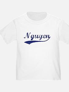 Nguyen - vintage (blue) T