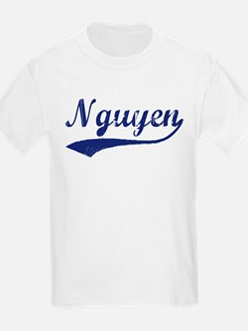 Nguyen - vintage (blue) T-Shirt