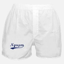 Nguyen - vintage (blue) Boxer Shorts