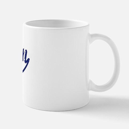 Nguyen - vintage (blue) Mug