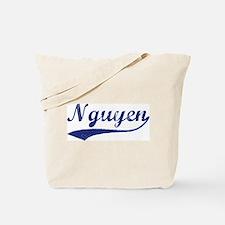 Nguyen - vintage (blue) Tote Bag