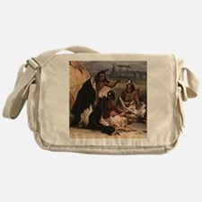 Cute Food issues Messenger Bag