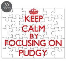 Keep Calm by focusing on Pudgy Puzzle