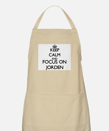 Keep Calm and Focus on Jorden Apron