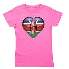 I heart geography Girl's Tee