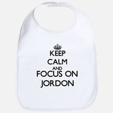 Keep Calm and Focus on Jordon Bib