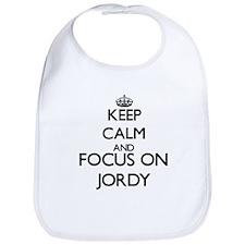 Keep Calm and Focus on Jordy Bib