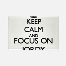 Keep Calm and Focus on Jordy Magnets