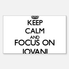 Keep Calm and Focus on Jovani Decal