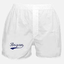 Bryan - vintage (blue) Boxer Shorts