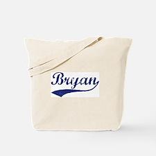Bryan - vintage (blue) Tote Bag
