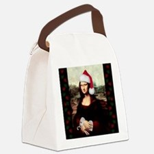 Funny Candy cane Canvas Lunch Bag