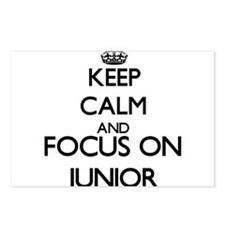 Keep Calm and Focus on Ju Postcards (Package of 8)