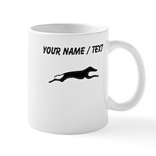 Greyhound Silhouette (Custom) Mugs