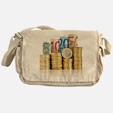 euro currency Messenger Bag