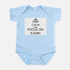 Keep Calm and Focus on Kadin Body Suit