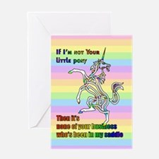 My Li'l Unicorn Greeting Cards