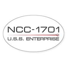 USS Enterprise 2009 Dark Decal