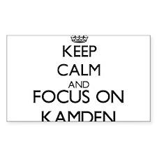 Keep Calm and Focus on Kamden Decal
