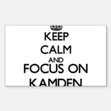 Keep Calm and Focus on Kamden Decal