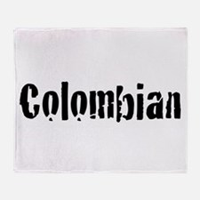 Colombian Throw Blanket