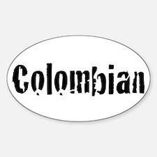 Colombian Sticker (oval)