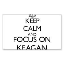 Keep Calm and Focus on Keagan Decal