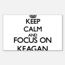 Keep Calm and Focus on Keagan Decal