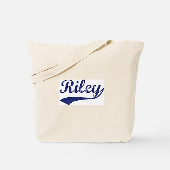 Riley - vintage (blue) Tote Bag