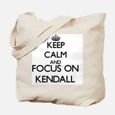Keep Calm and Focus on Kendall Tote Bag
