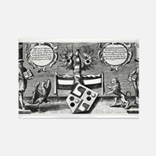 Alchemical Cabala Etching Rectangle Magnet
