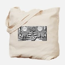 Alchemical Cabala Etching Tote Bag